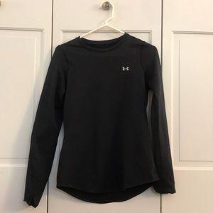Under Armour long sleeve winter workout shirt.